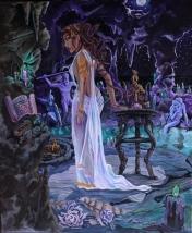 """""""Medusa's Cove"""" Acryllic on Canvas"""